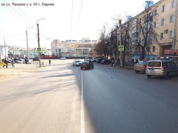 Фото В Кирове «Тойота» сбила 84-летнюю женщину на пешеходном переходе
